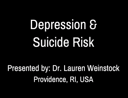 Depression and Suicide Risk in Bipolar Disorders